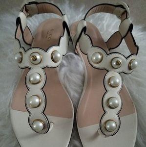 Gucci thong sandal.